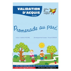 Promenade au parc - Validation d'acquis