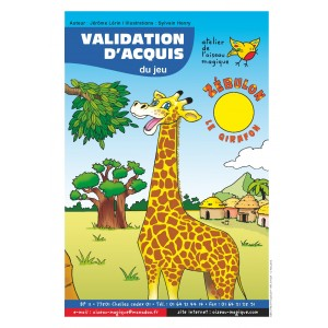 Zébulon le girafon - Validation d'acquis