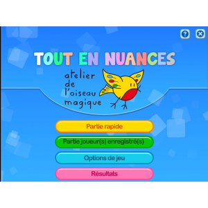 TOUT EN NUANCES APPLICATION HTML5