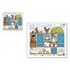 Carte consignes et plateau - Casse-tête à la ferme